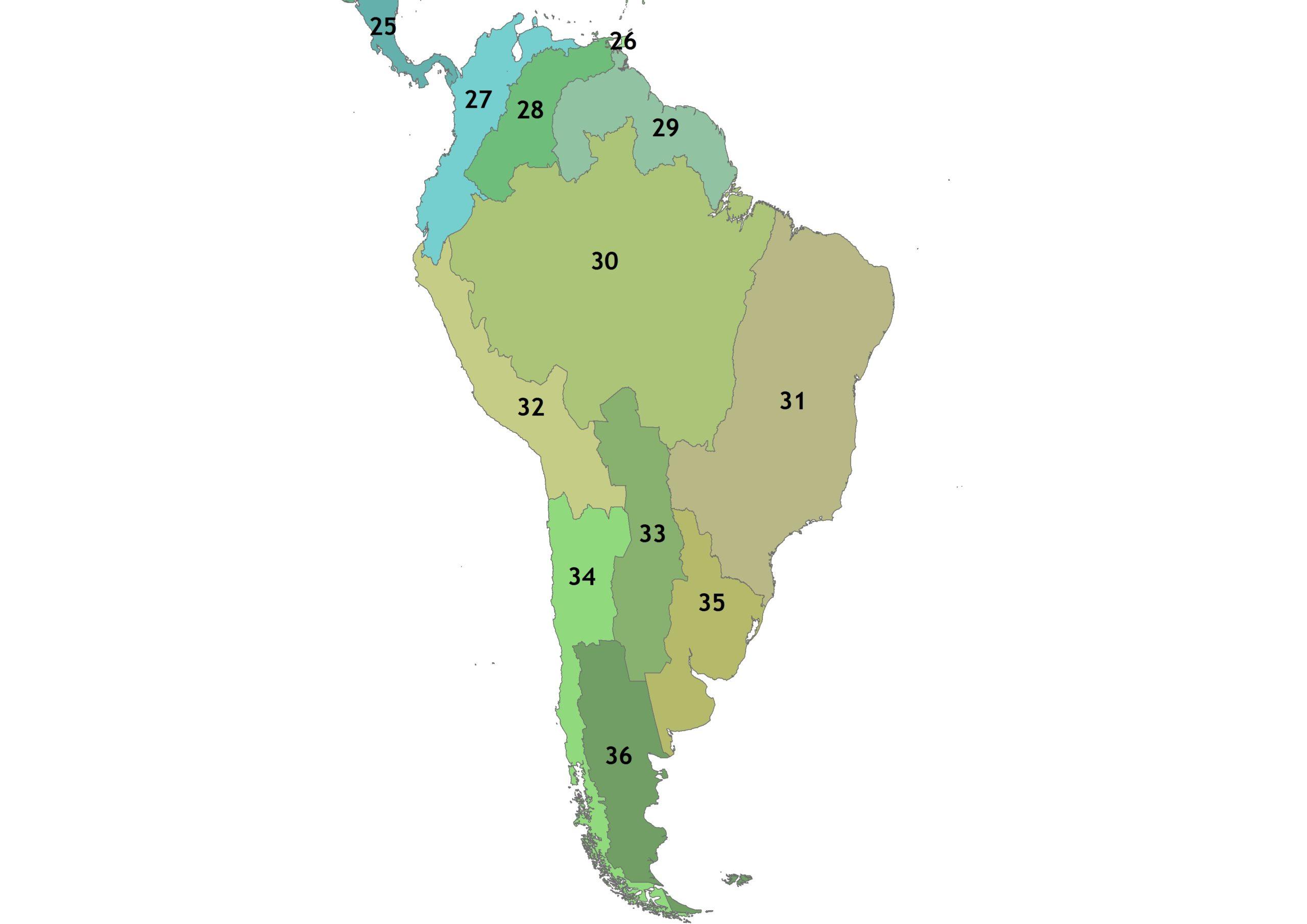 South-America-Regions